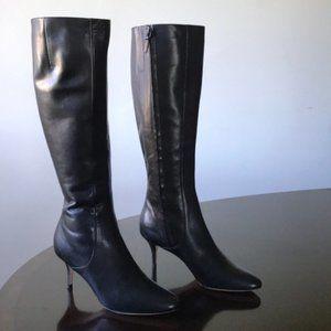 Cole Haan Kitten Heel high boot 7B
